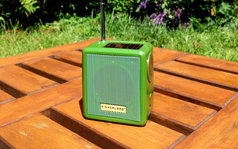Solar Power Radio