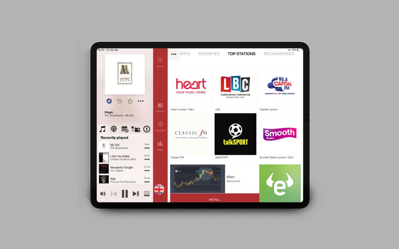 British Radio App