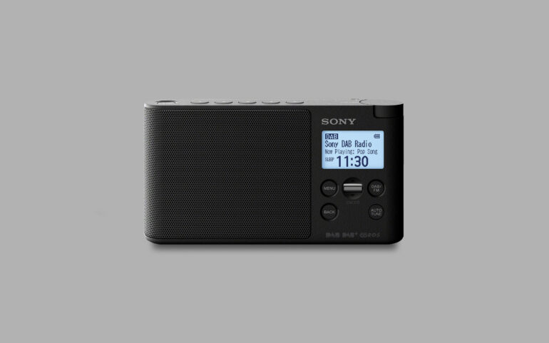 Sony XDR-S41D Review 1