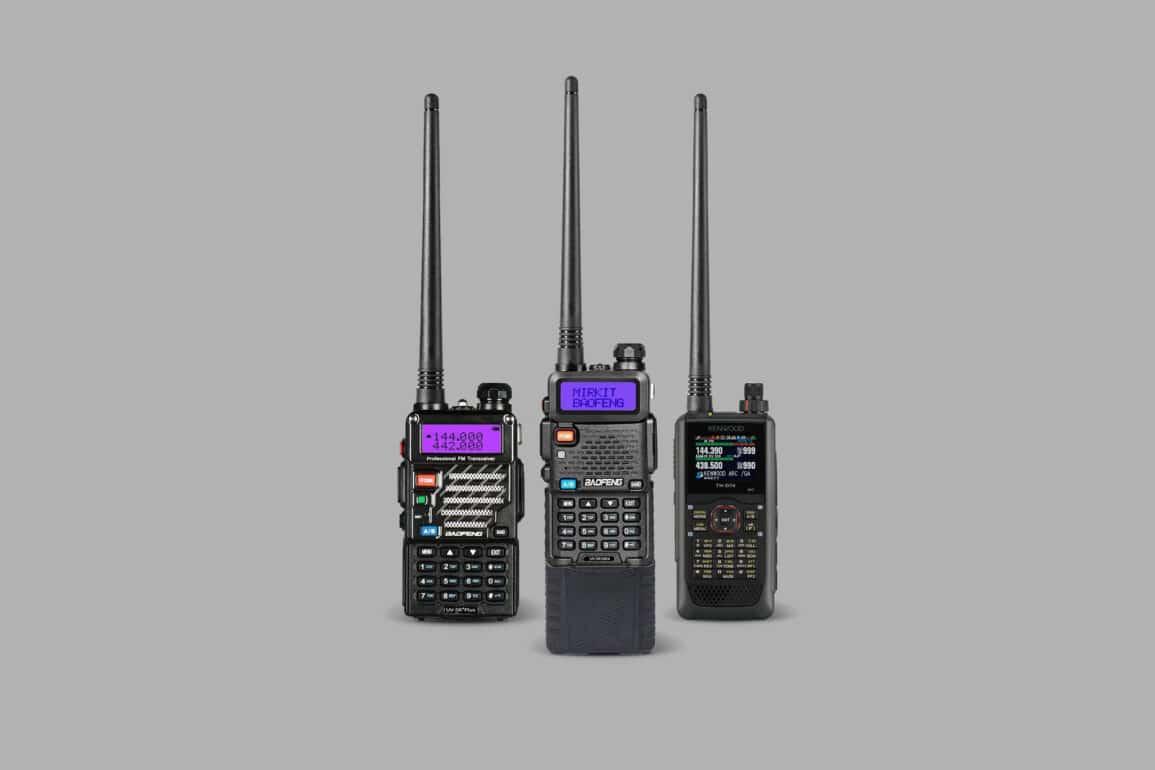 Handheld Ham Radio 1