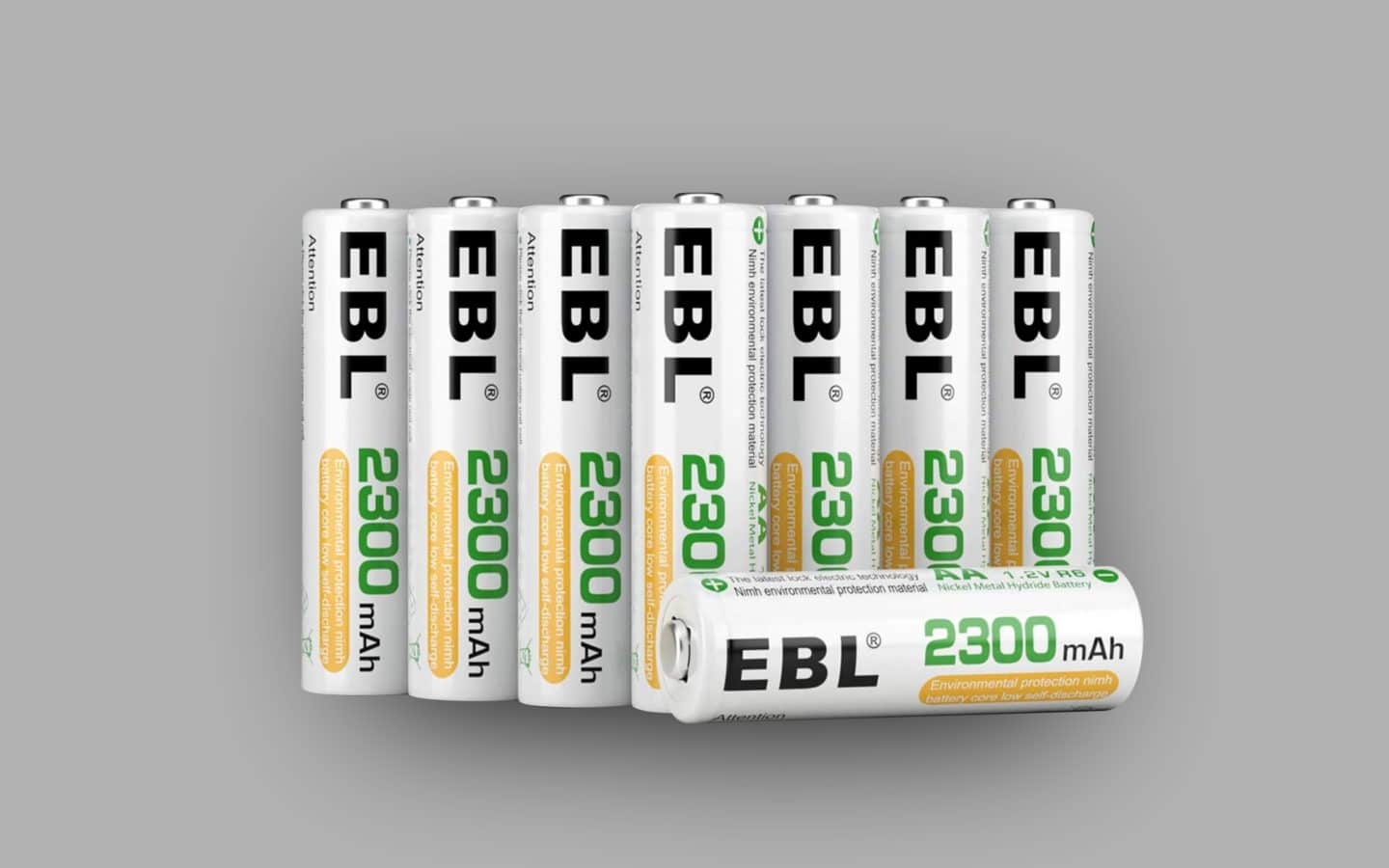 Best Rechargeable Batteries 10