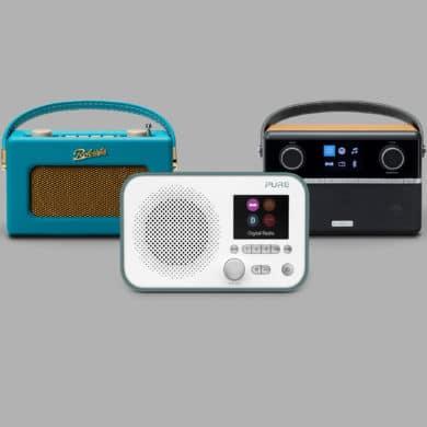 DAB Radio With Aux Input 1