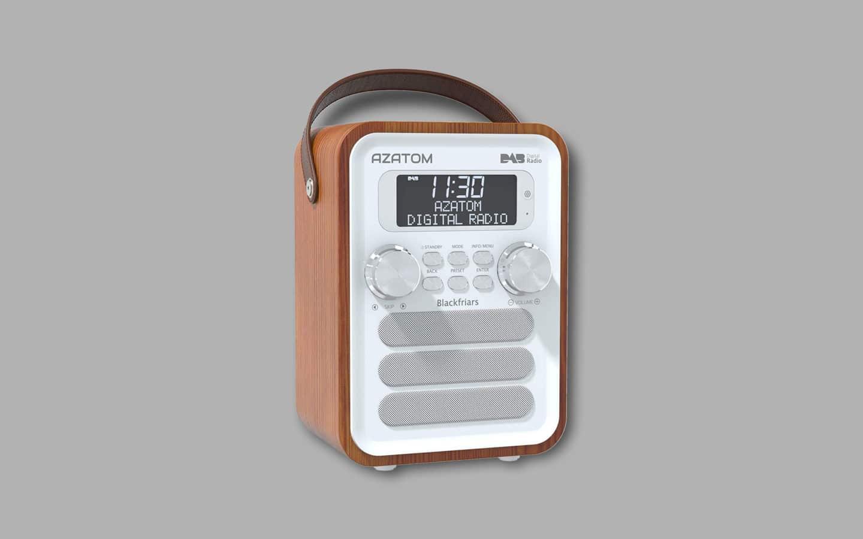 DAB Radio With Aux Input 3