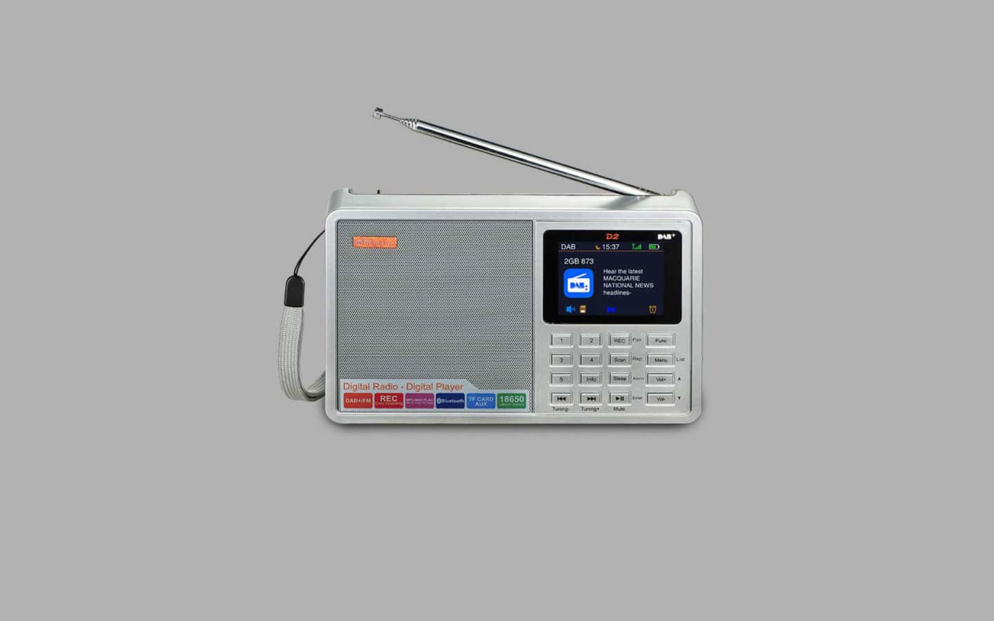 DAB Radio With Record Function 6