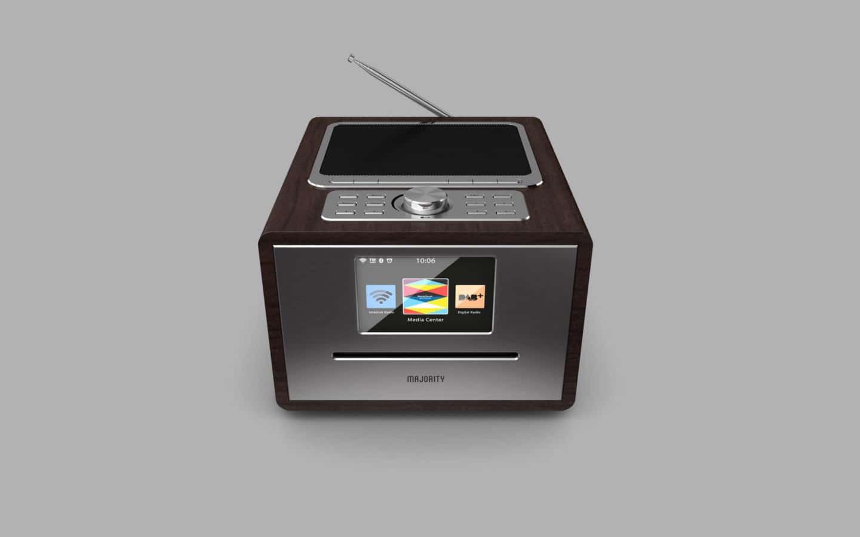 Digital Radio With An iPod Dock 9