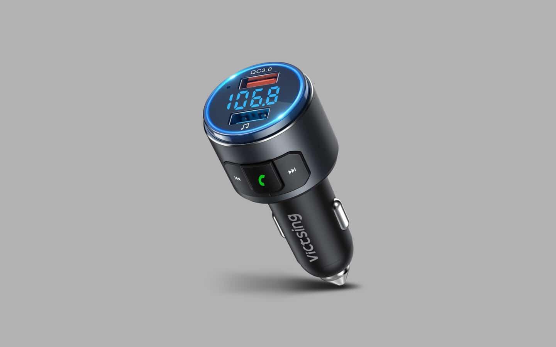 Best Bluetooth FM transmitter 8