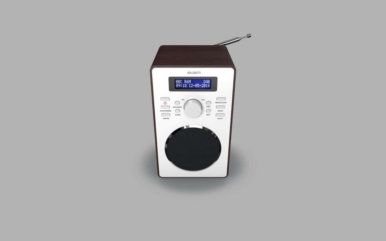 DAB Radio Alarm Clock 10