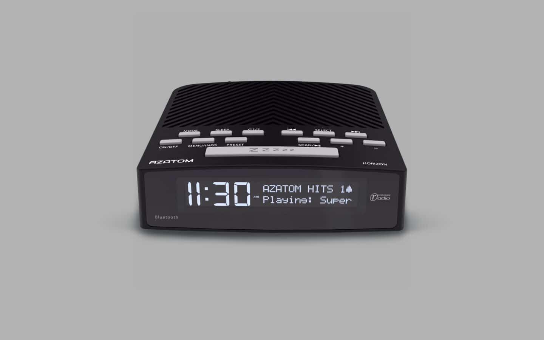 DAB Radio Alarm Clock 2