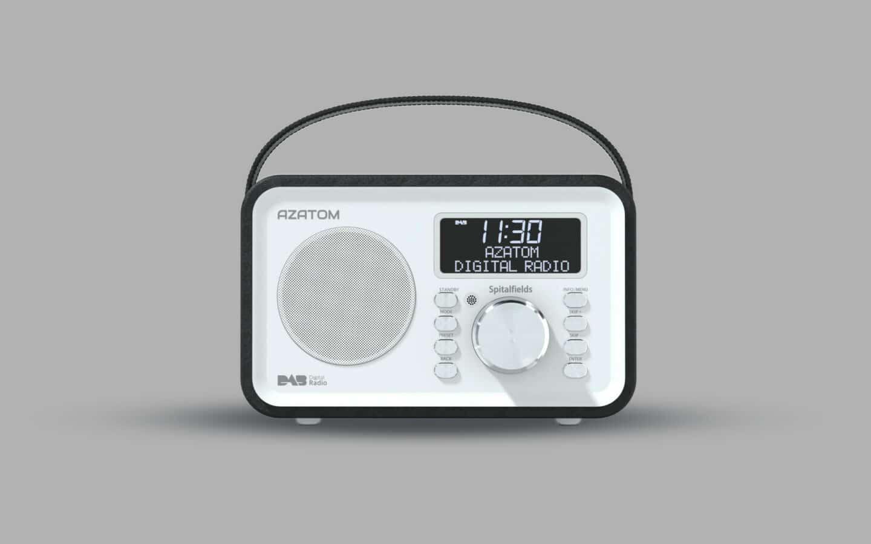 DAB Radio Alarm Clock 8