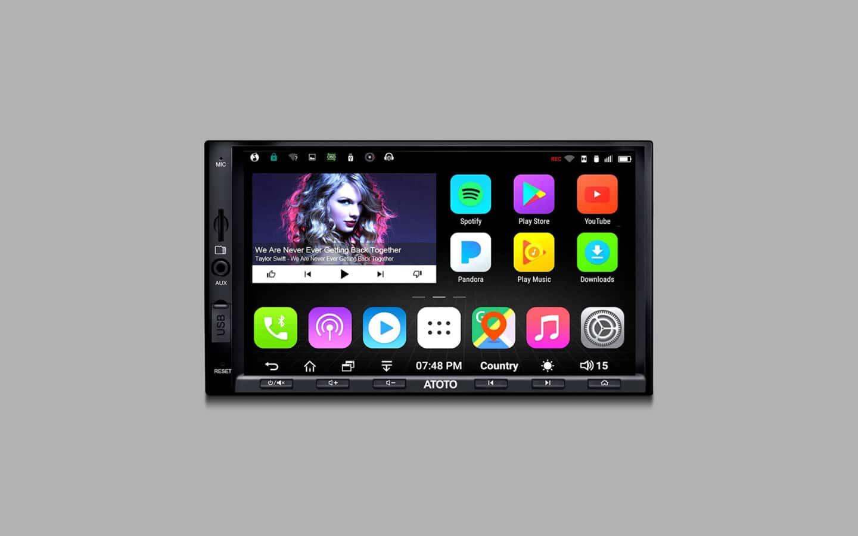 Bluetooth Car Stereo 9
