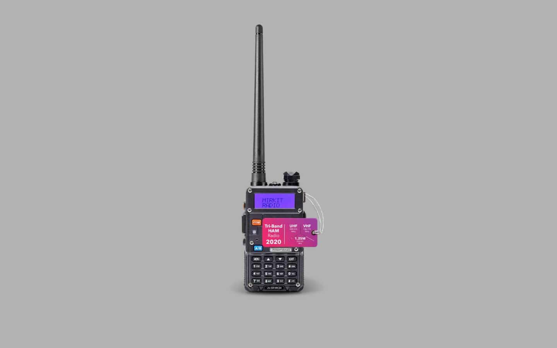 Handheld Ham Radio 7