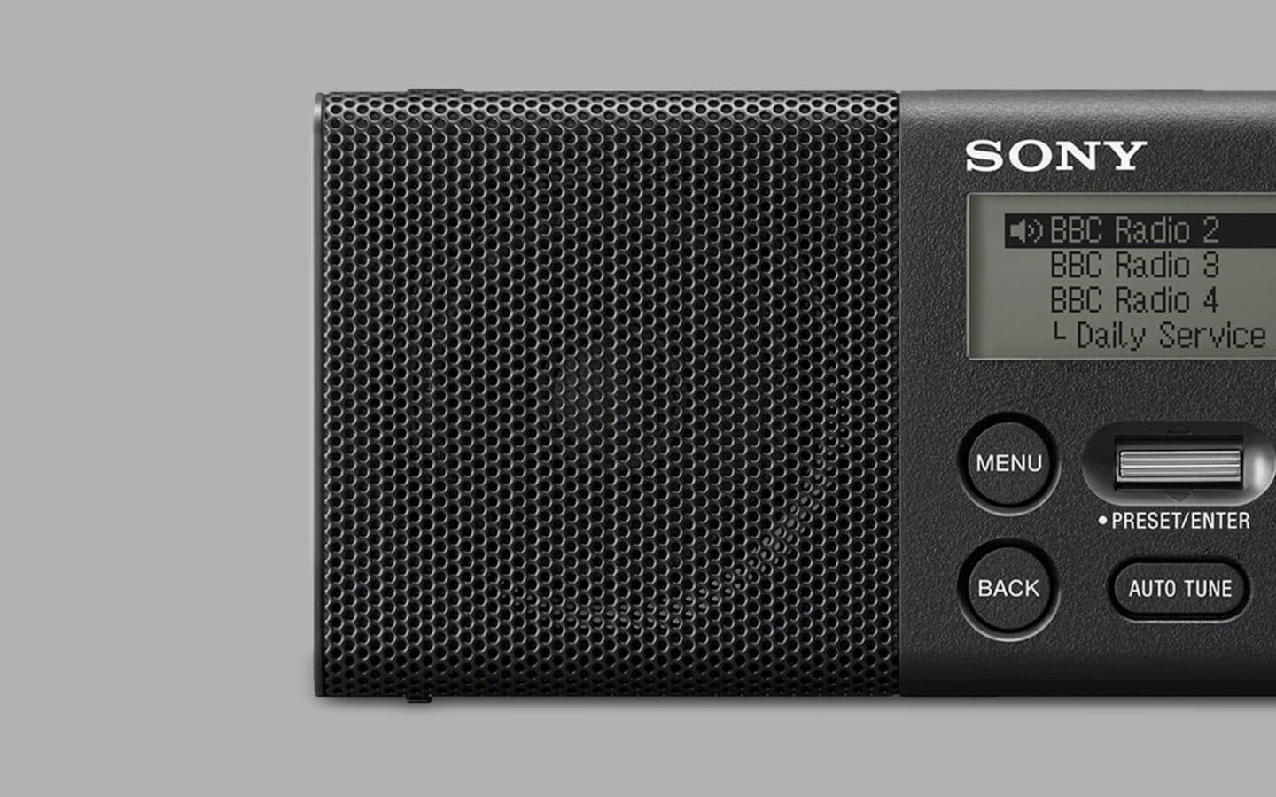 Sony XDR-P1DBP Review 2