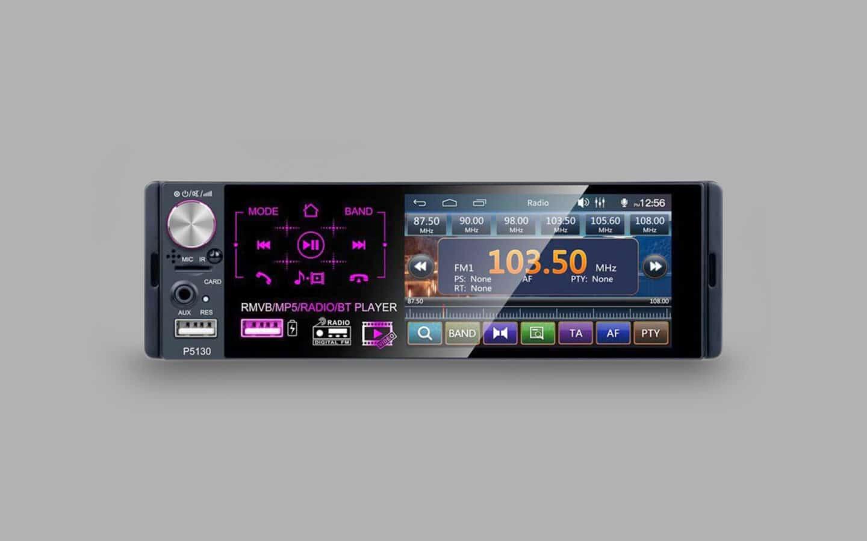 Single DIN Radio 10