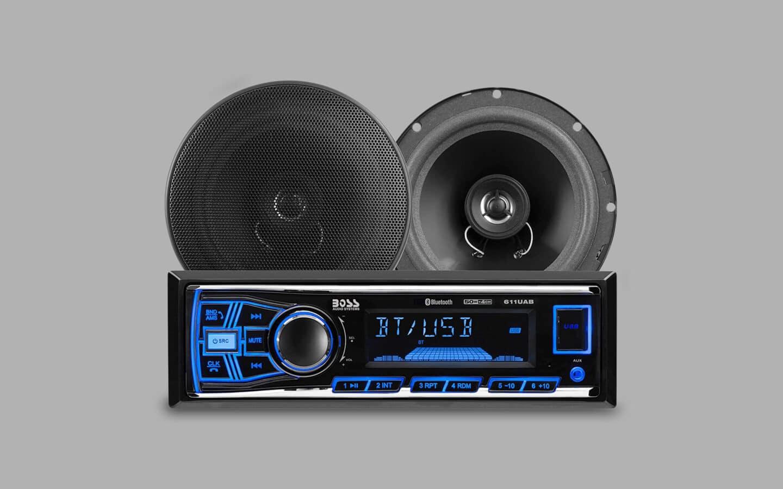 Single DIN Radio 6