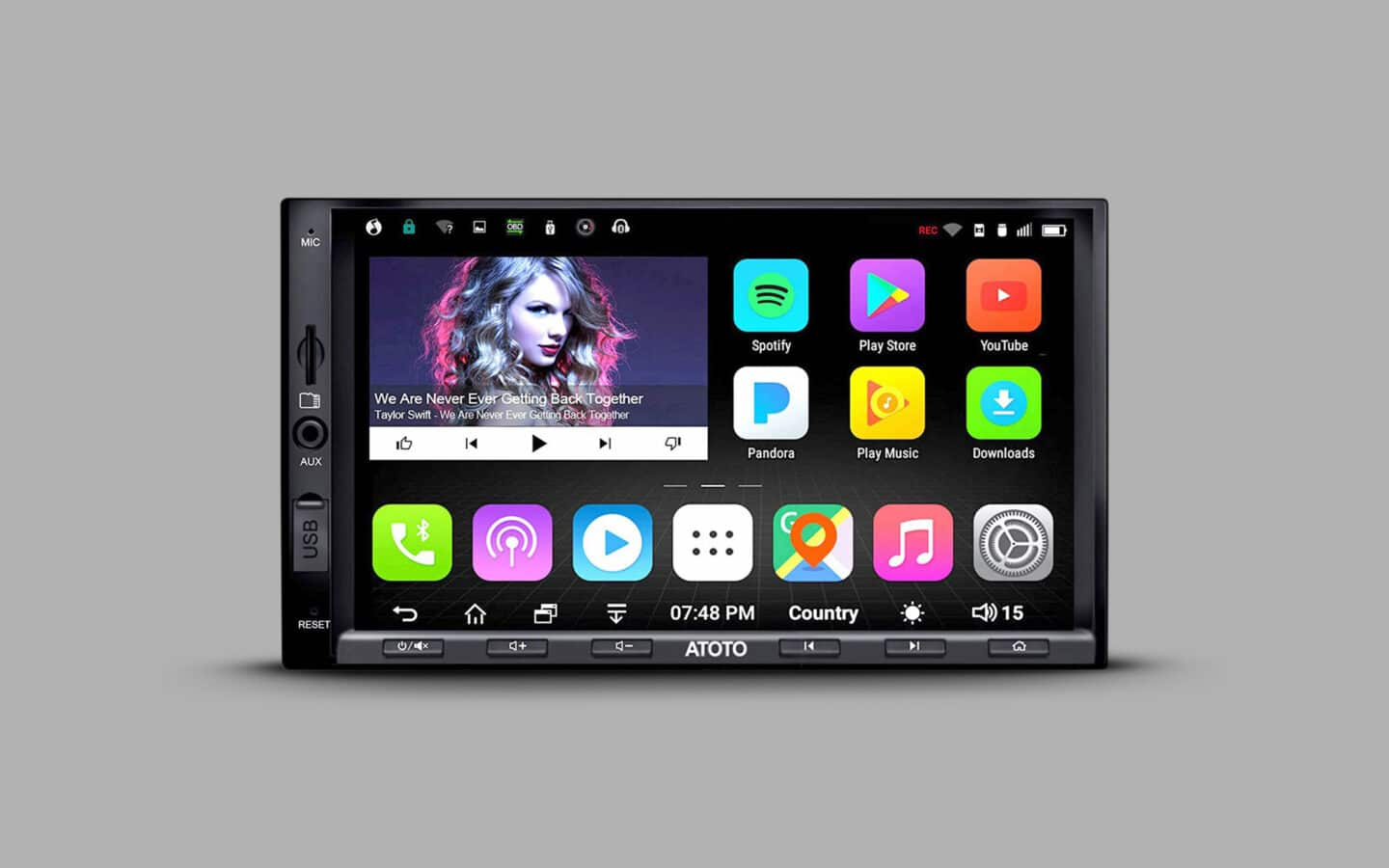 Touch Screen Car Stereo 5