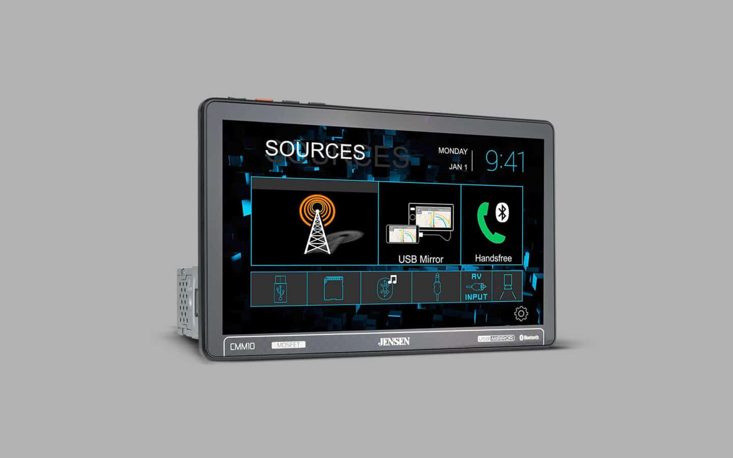 Touch Screen Radio 4