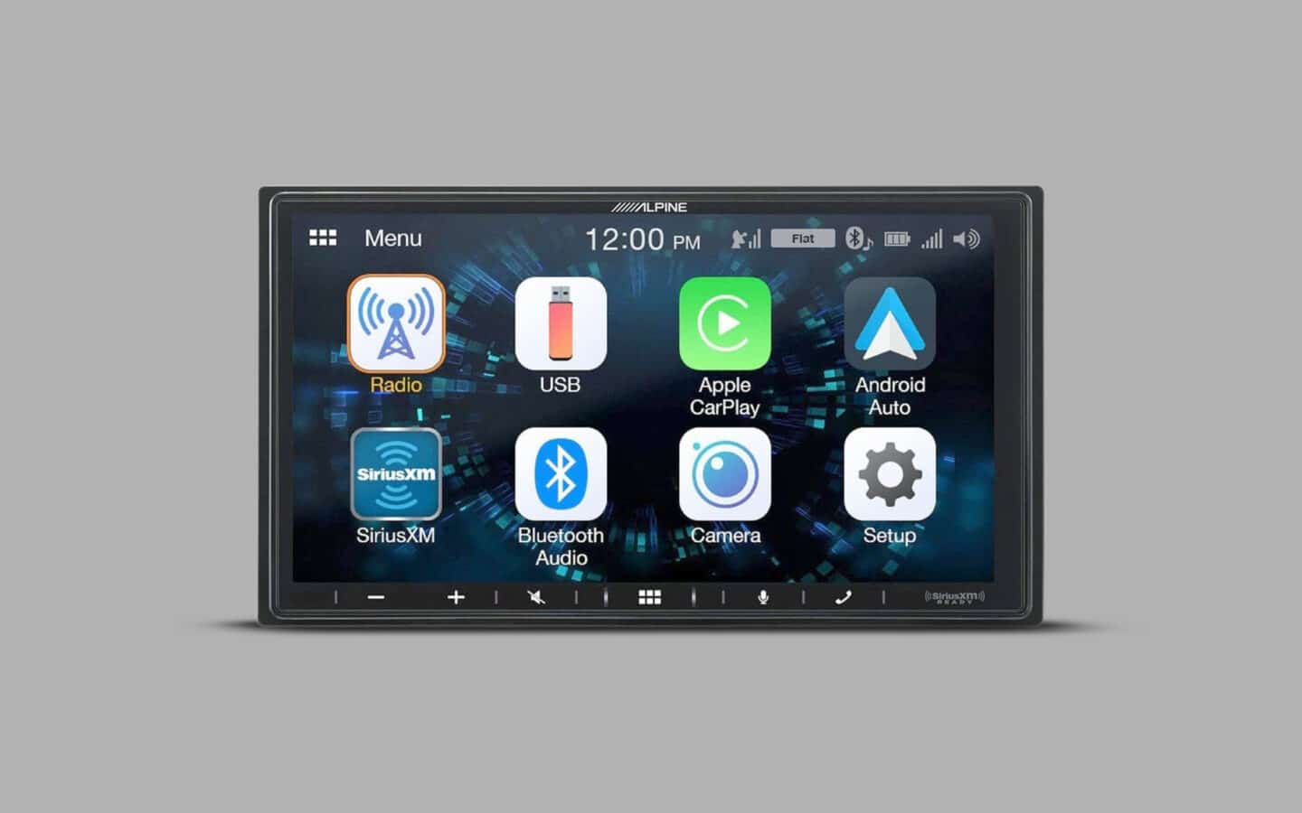 Touch Screen Radio 5